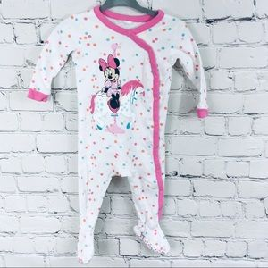 Baby girl footed one piece pajamas 3-6 month